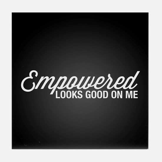 Empowered Tile Coaster