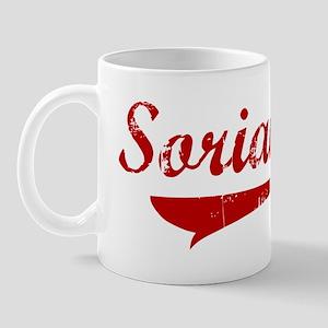 Soriano (red vintage) Mug