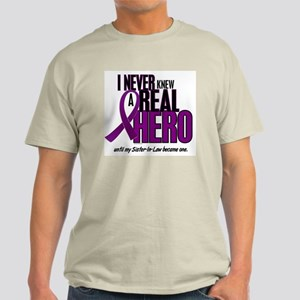 Never Knew A Hero 2 Purple (Sister-In-Law) Light T