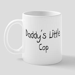Daddy's Little Cop Mug