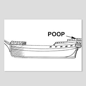 Poop Deck Postcards (Package of 8)
