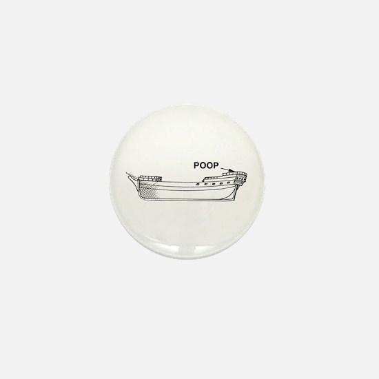 Poop Deck Mini Button