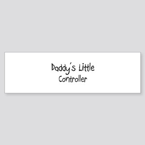 Daddy's Little Controller Bumper Sticker