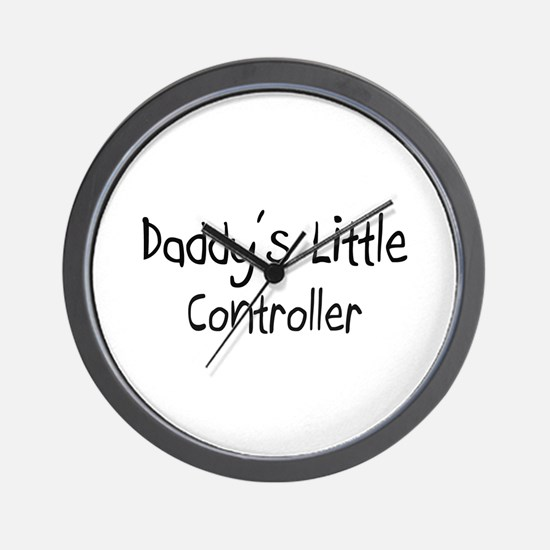 Daddy's Little Controller Wall Clock