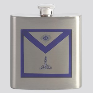 Mansonic Senior Warden Apron Flask