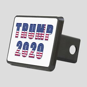 Patriotic Trump 2020 Rectangular Hitch Cover