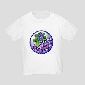 Richmond Blueberry Toddler T-Shirt