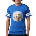 Golden Retriever Mens Football Shirt
