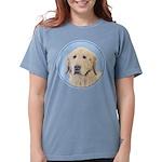 Golden Retriever Womens Comfort Colors Shirt