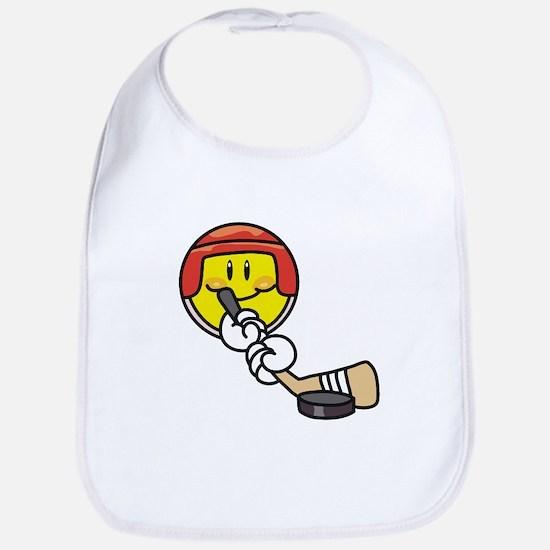 Smile Face Hockey Bib