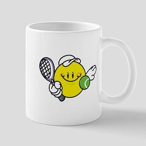 Smile Face Tennis Mug