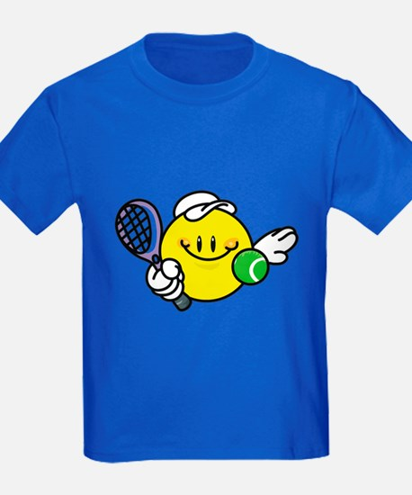 Smile Face Tennis T