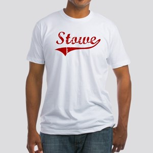 Stowe (red vintage) Fitted T-Shirt