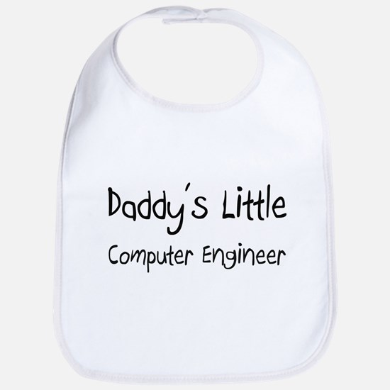 Daddy's Little Computer Engineer Bib