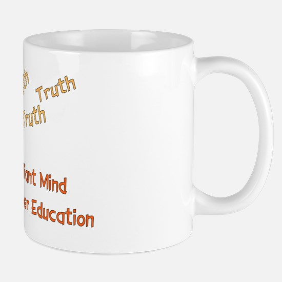 Wasted Education Mug