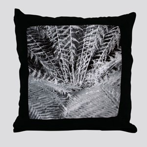 Silver Fern in the Otways Throw Pillow