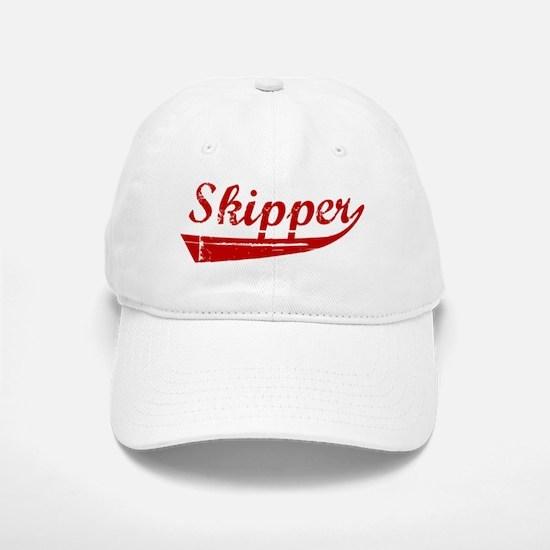 Skipper (red vintage) Baseball Baseball Cap