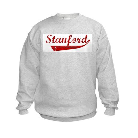 Stanford (red vintage) Kids Sweatshirt