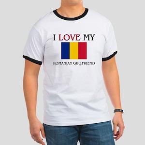 I Love My Romanian Girlfriend Ringer T