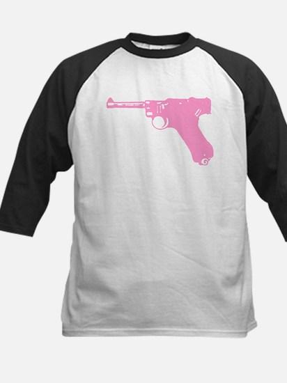 Pink Pistol Kids Baseball Jersey