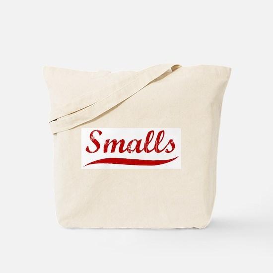 Smalls (red vintage) Tote Bag