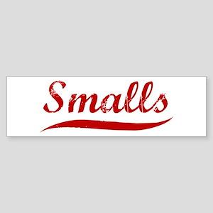 Smalls (red vintage) Bumper Sticker