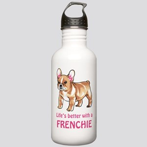 Better With a Frenchie Water Bottle
