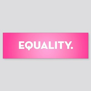 Equality Sticker (Bumper)