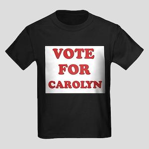 Vote for CAROLYN Kids Dark T-Shirt