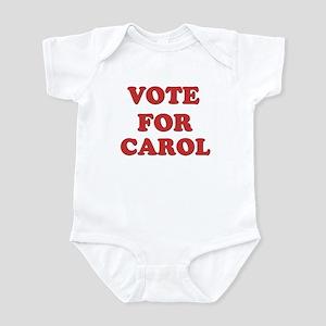 Vote for CAROL Infant Bodysuit