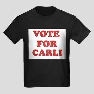Vote for CARLI Kids Dark T-Shirt