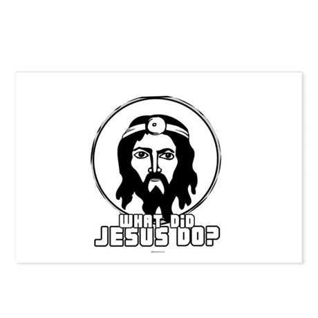 What did Jesus Do? - Doctor? ~ Postcards (Package