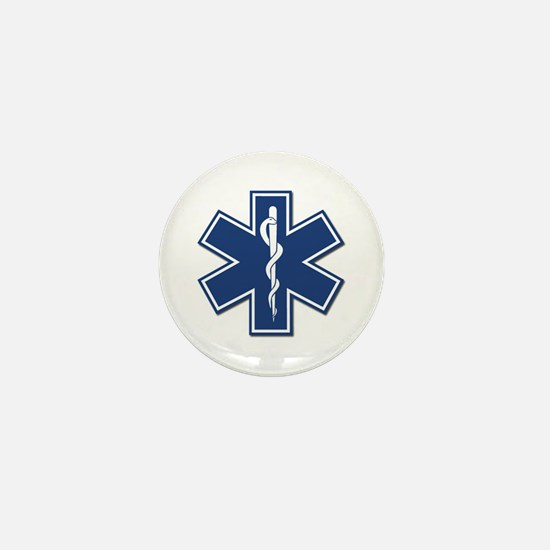 EMT Rescue Mini Button