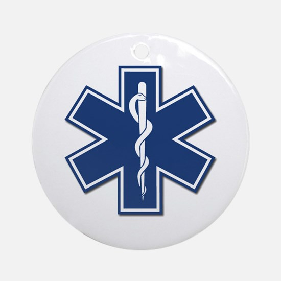 EMT Rescue Ornament (Round)