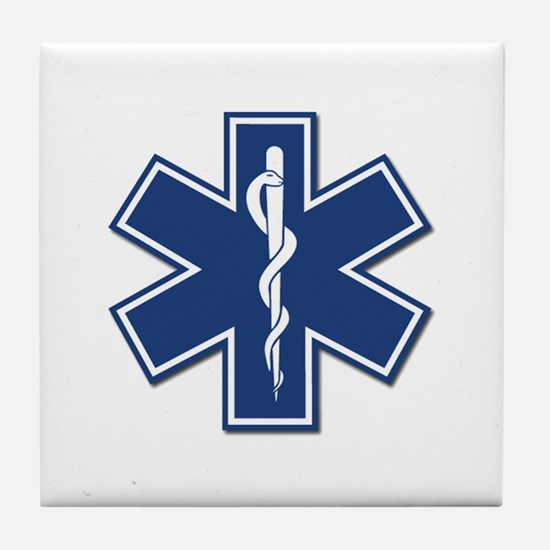 EMT Rescue Tile Coaster