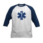 Emt Rescue Kids Baseball Jersey