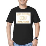 Idaho springs Fitted Dark T-Shirts