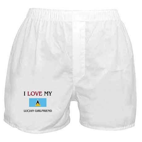 I Love My Lucian Girlfriend Boxer Shorts