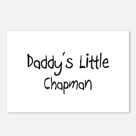 Daddy's Little Chapman Postcards (Package of 8)