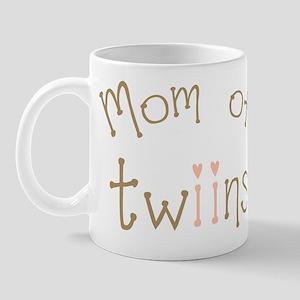 Mom of Twin Girls Twiin Mug