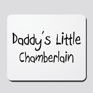 Daddy's Little Chamberlain Mousepad