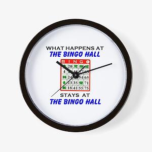 BINGO HALL Wall Clock