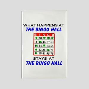 BINGO HALL Rectangle Magnet