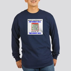BINGO HALL Long Sleeve Dark T-Shirt