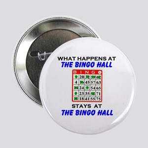 "BINGO HALL 2.25"" Button"