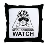 Neighborhood Watch ~  Throw Pillow