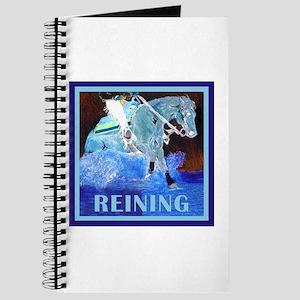 Blue Reining Horse Journal
