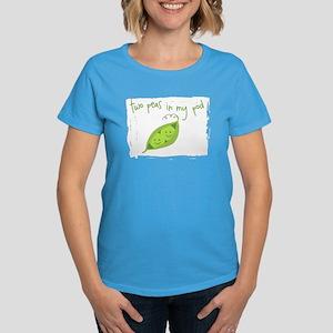 Two Peas In My Pod Women's Dark T-Shirt