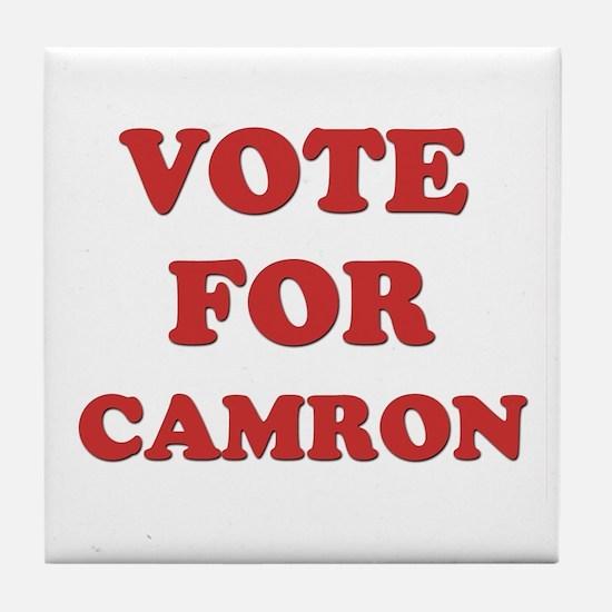 Vote for CAMRON Tile Coaster