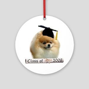 Pomeranian Grad 08 Ornament (Round)